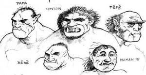 Famille Orc (Orcs de Faërie)