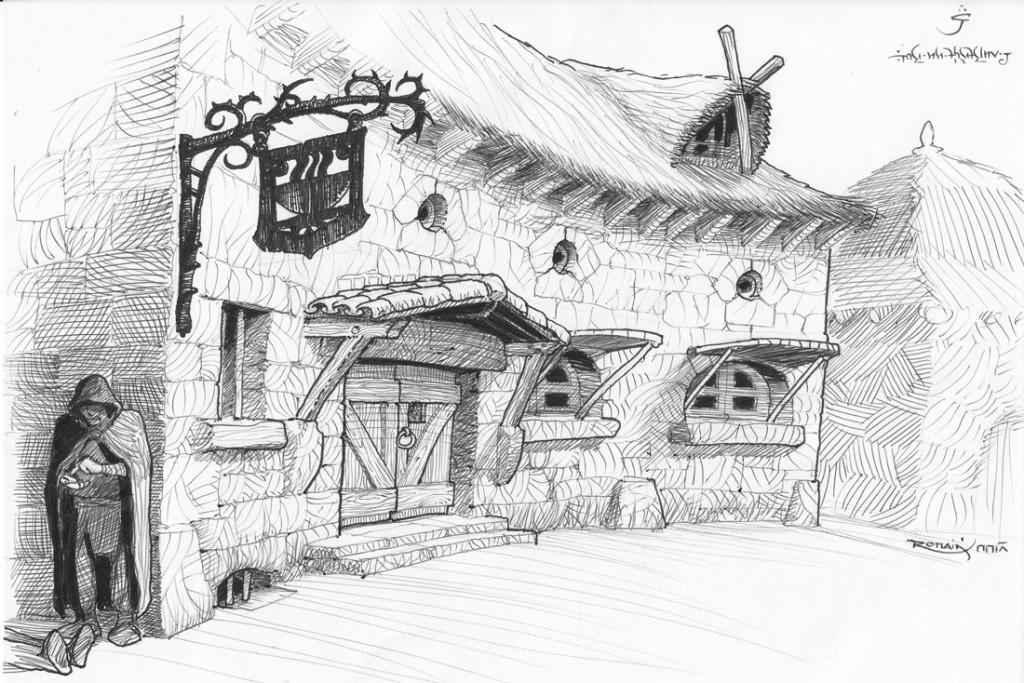Architecture Faërique 3 - L'auberge du bol