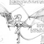 Draconide mâle : 4 bras, 4 lames