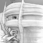 Draconides : abords extérieurs de la colonie