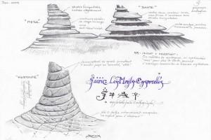 Monts ensorcelés : concept art (Les monts ensorcelés)