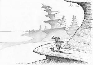 Monts ensorcelés : les monts tournevis