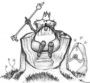 Roi des rongeux (Rongeux de Faërie)