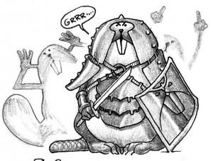 Guerrier Rongeux (Rongeux de Faërie)