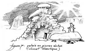 Palais de rongeux en pierres (Rongeux de Faërie)