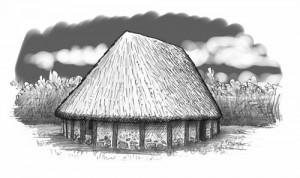 maison préhistorique pour Pidapi v6 (Pidapi V6 : la cuvée des grenouilles 2012)