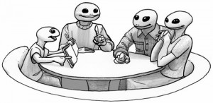 Pidapi : la table ronde des grenouilles parents-enfant-enseignant (Pidapi V7 : la cuvée des grenouilles 2013)
