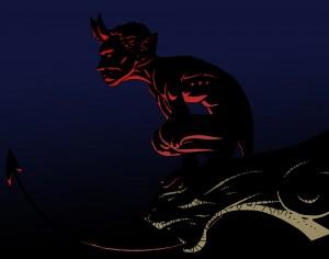 Diable du Pont Valentré (Pas Hellboy … mais qui ?)