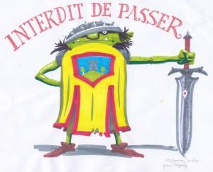 Miniorc : interdit de passer (Interdit de passer)