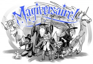 «Magiversaire» : rendu final (Magie & anniversaire = magiversaire)