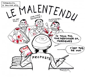 malentendu (Charlie Hebdo, 7 janvier 2015)
