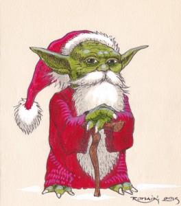 Petit Yoda Noël (Petit Yoda Noël)