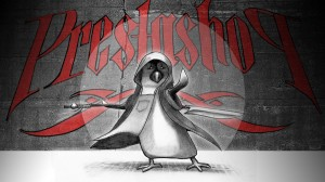 Mascotte Prestashop version Jedi-Shaolin-WTF-Ghostdog (Prestashop, sa mascotte, et les livres d'informatique)