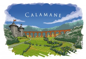Calamane, son château, son viaduc. (Calamane et sa Calamanaise)