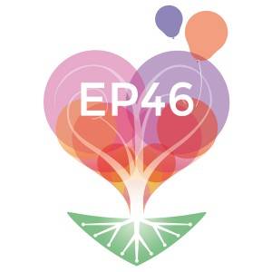 Logo de l'association « être parent 46 » (fond blanc) (Logo être parent 46)