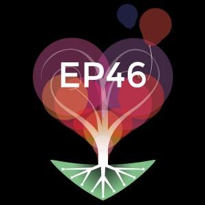 """Logo de l'association """"être parent 46"""" (fond sombre) (Logo être parent 46)"""