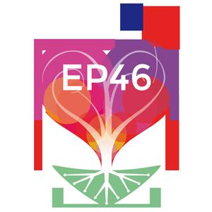 """Logo de l'association """"être parent 46"""" (fond transparent)"""