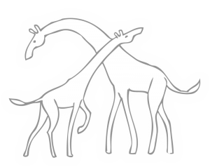 Communication non violente – Girafes (Communication non violente : des girafes et des chacaux)