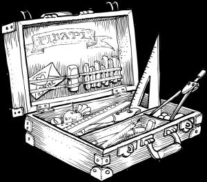 Super boîte à outils d'écolier (Pidapi 2016)