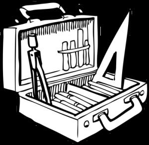 Boîte à outils d'écolier