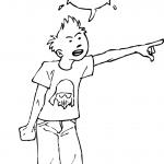Enfant de 10 ans insolent