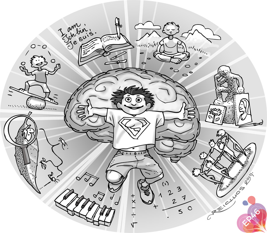 Les différentes formes d'intelligence chez l'enfant