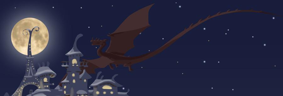 Calendrier de l'Avent : la pleine lune et le Dragon