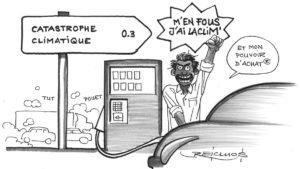 """Manif contre le prix des carburants, mouvement du 17 novembre : """"m'en fous j'ai la clim… et mon pouvoir d'achat"""" (Accros à la voiture)"""