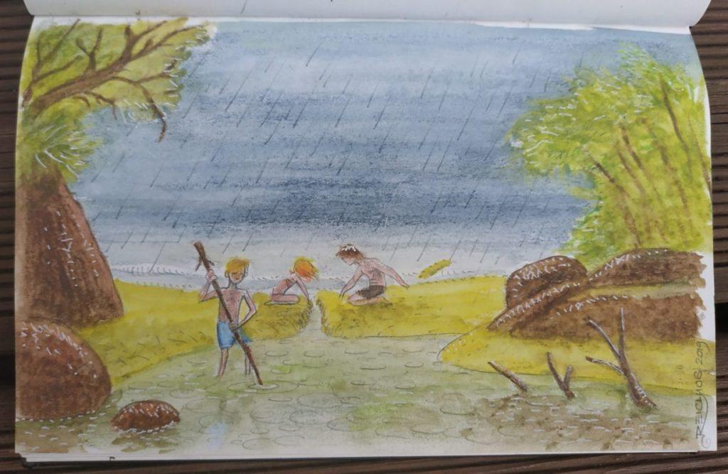 Carnet de vadrouille 2019 : Déluge à Rimba Ecolodge (Indonésie)